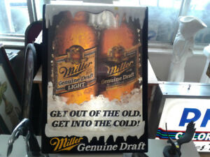Millers Genuine Draft sign