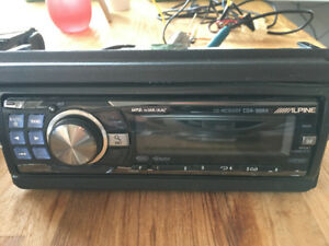 Radio d'auto CD/Mp3 Alpine