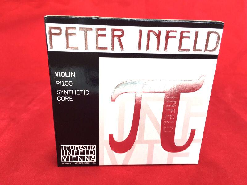 Thomastik Peter Infeld Violin String  Set 4/4 with Platinum E