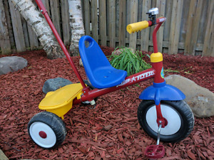 Radio Flyer Push Tricycle Trike