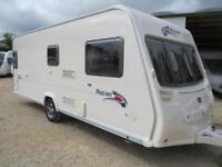 Bailey Pageant Burgandy 2008 4 Berth Fixed Bed Single Axle Touring Caravan