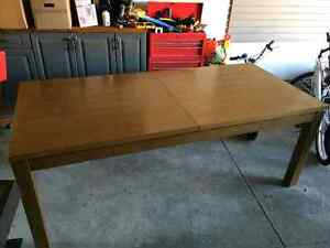 Beautiful Wood Dining Table Large Family