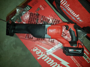Brand new milwaukee m18 sawzall recip saw