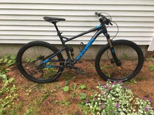 2017 Marin Hawk Hill mountain bike - size large
