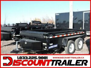 2019 Low Profile 5x10  Dump Trailer  TA 7000#