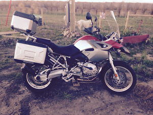 2005 BMW 1200 GS, top luggage, alarm,