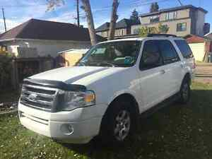 2010 Ford Expedition White SUV, Crossover