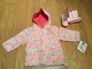 Rain Jacket and Boots Set (18M)