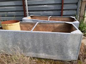 Large Galvanised water tanks.. price per tank