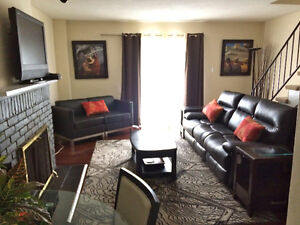 Rent Fully Furnished 4 Bedroom Townhouse, Spacious, Quiet WOW