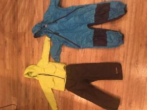 4T Columbia rain gear