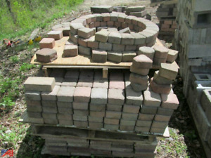 Assorted paver stones