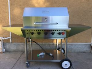"Trimen 36"" Commercial Barb B Q/Grill-Model #TCG-36"