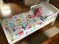Toddler Bed and Mattress £120