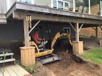 Excavating and Skidsteer