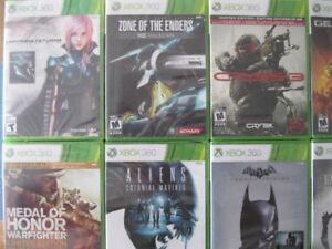 SELLING BRAND NEW AND SEALED XBOX 360 GAMES STARTING FROM $5