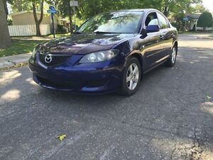 2005 Mazda 3  *** AC ** LOW MILEAGE 130 xxx KM **
