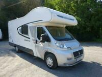 2012 Swift Lifestyle 696 6 berth 6 seat belts bunk beds motorhome for sale