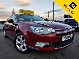 2009 CITROEN C5 2.0 VTR PLUS HDI 4D 138 BHP! P/X WELCOME! 2 OWNERS! PARKING AID!