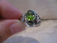 Bali Collection Russian Diopside Ring