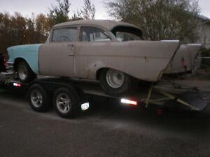 Custom Car Hauling Tilt Deck Trailer Avail.