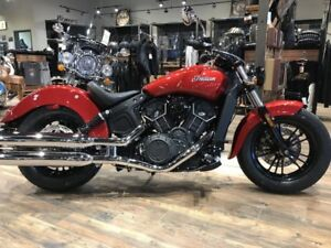 2019 Indian Motorcycle Scout Sixty ABS Ruby Metallic