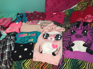 Girls medium, size 7-8 sweaters and tops