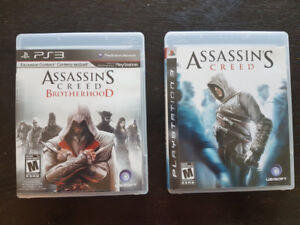 Playstation PS3 Assassin's Creed Games