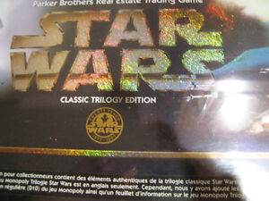 STAR WARS MONOPOLY - LIMITED & CLASSIC EDITIONS -SEALED BOXES Kitchener / Waterloo Kitchener Area image 3