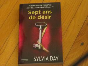 SYLVIA  DAY SEPT ANS DE DÉSIR / littérature auteur