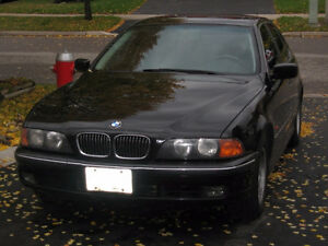 1998 BMW 5-Series Leather Sedan in excellent condition