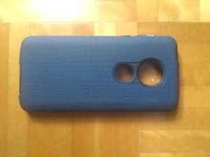 Coque protection Bleu pour Motorola G6 PLAY