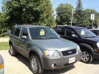2007 Ford Escape SUV, Crossover 4X4