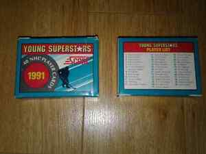 Cartes hockey Score 1991 young superstars