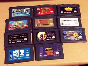 GameBoy games for sale!!! [11 Different games!] Cambridge Kitchener Area image 1