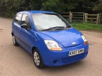 Chavrolet Matiz 0.7 auto 5dr very low mileage