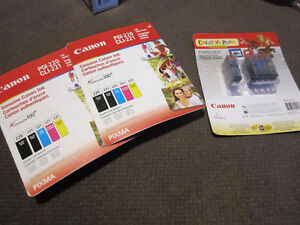 Canon® CLI-221/PGI-220 Combo Pack Print Cartridges - New, in Pac Kitchener / Waterloo Kitchener Area image 1