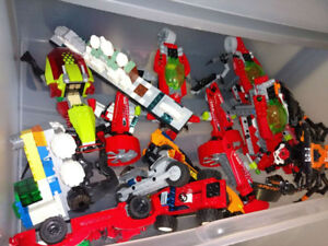 100% genuine RANDOM Lego set (95-100% finished) bulk lot by pond