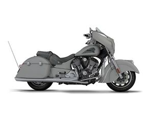 2017 Indian Chieftain Silver Smoke