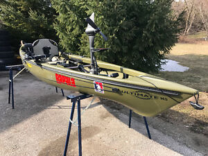 Luxury Fishing Kayak - this is the one!
