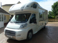 Bessacarr E765 S 4 berth Coach built RHD Motorhome with Rear Fixed Bed,