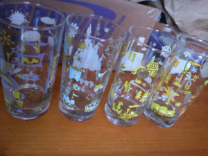 Authentic Disney world theme park glassware kitchen disneyland