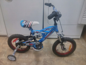 "Boys 14"" Supercycl bike for 4-6yr old, awesome"