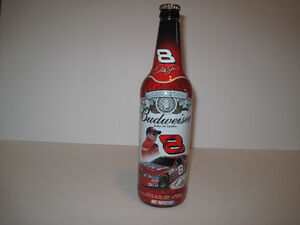 Nascar's Dale Earnhardt Jr. Collectable Budweiser Bottle