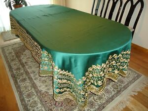 Beautifully Embroidered Dining Table Covers West Island Greater Montréal image 1