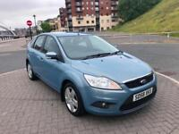2008 58 FORD FOCUS STYLE 1.6 TDCi METALIC BLUE NEW SHAPE CHEAP INSURANCE £30 TAX