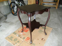 Vintage Decorative mahogany table
