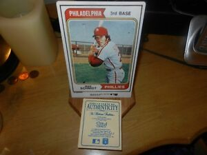 Mike Schmidt Limited ed  #ered China baseball card Phillies MLB