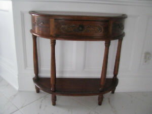 foyer or hall table