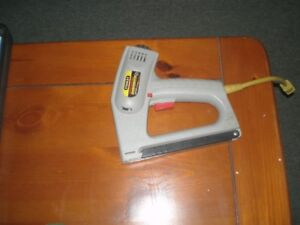 Stanley electric stapeler